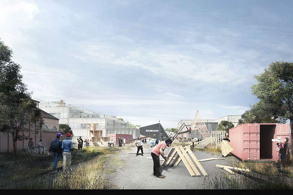 Newly Qualified Architects Win Restricted Design Competition For New School Of Architecture In Aarhus Architecture Lab,Two Car Garage Interior Design Ideas