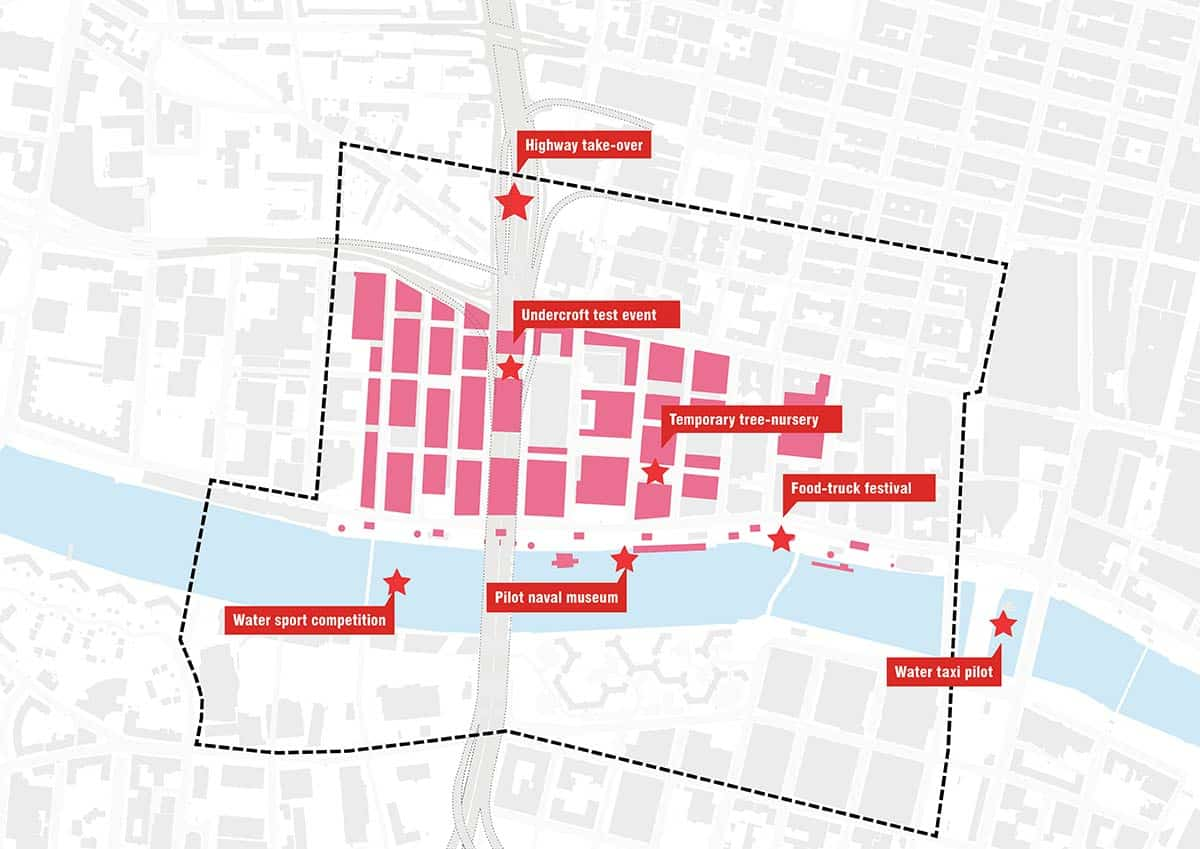 MVRDV and AustinSmithLords strategy to regenerate Glasgow City