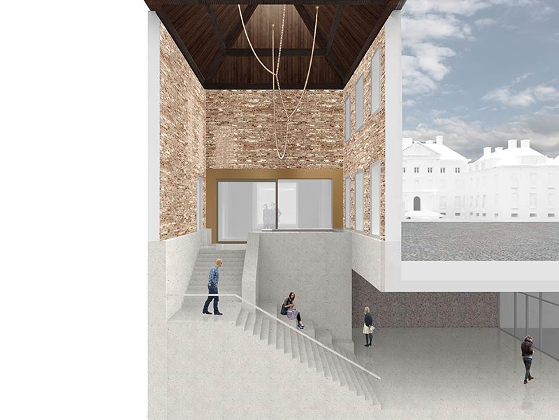 KAAN Architecten designs Museum Paleis Het Loo's renovation and expansion