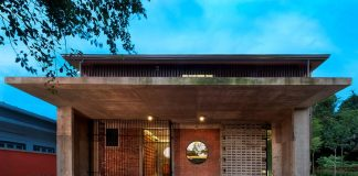A new green eco-friendly home in Malaysia