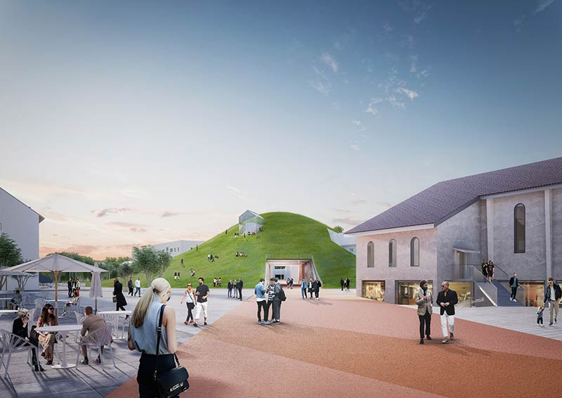 MVRDV reveals the revitalization of a former US army barracks in Germany