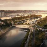 Foster + Partners wins Upper Orwell Crossings Competition in Ipswich