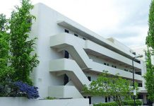 Isokon building in Hampstead, designed by Wells Coates