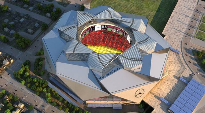 Mercedes-Benz Stadium Lights the Way for Connectivity