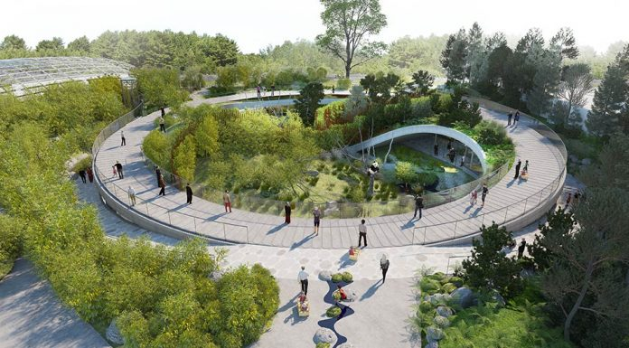 BIG Unveils Yin And Yang-Shaped Panda Habitat