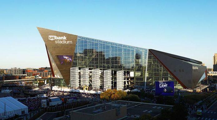 The Minnesota Vikings Stadium