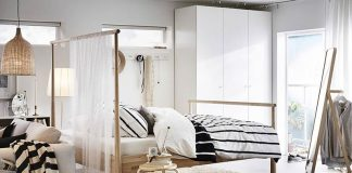 Ways to make the bedroom look wide with bedding linen