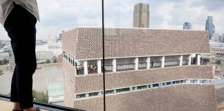 Tate Modern's viewing gallery, seen from the Neo Bankside building