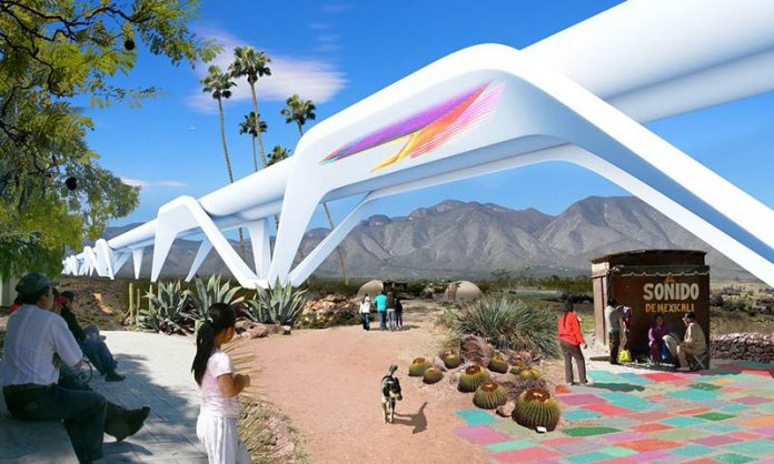 One collective of Mexican and American architects wants to turn the border into a 'regenerative' territory with no barrier between the nations