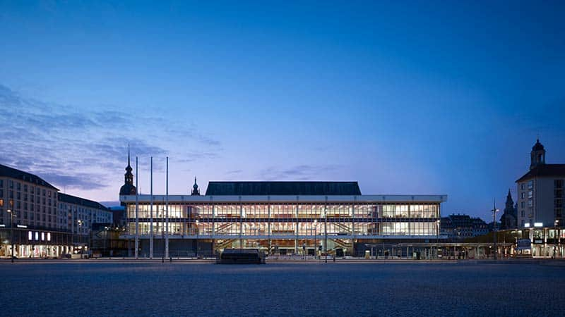 Re-opening of the kulturpalast, dresden
