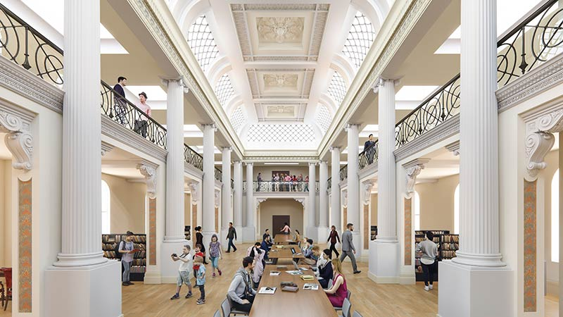 Design unveiled for the State Library Victoria Vision 2020 redevelopment in Melbourne, Australia