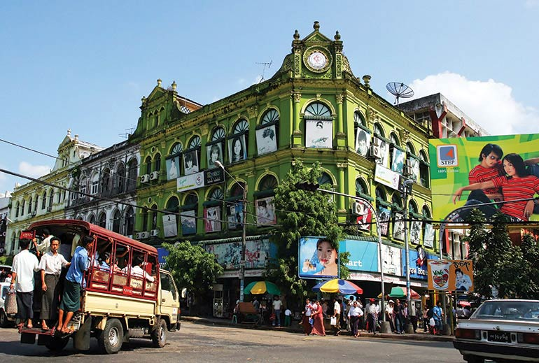 Grand designs: saving Yangon's crumbling colonial architecture