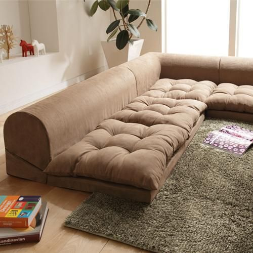 Superior 38 Brilliant Floor Level Sofa Designs To Boost Your Comfort