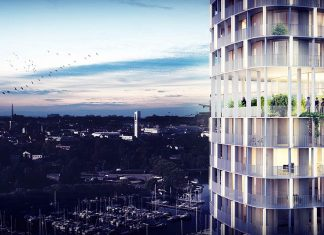 C.F. Møller Architects wins competition for a new landmark in Västerås, Sweden