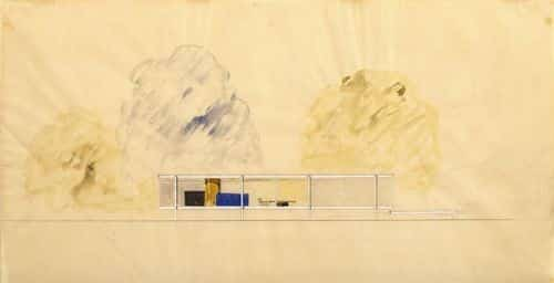 Farnsworth House facade