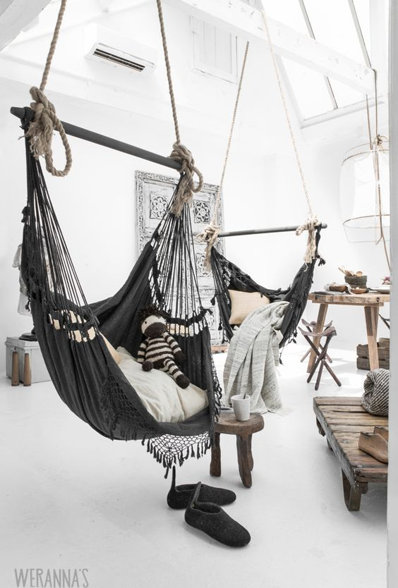 19 Excellent Indoor Hammocks to Soothe Your Nerves Swinging