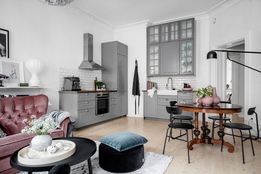 Scandinavian kitchen and dining 2