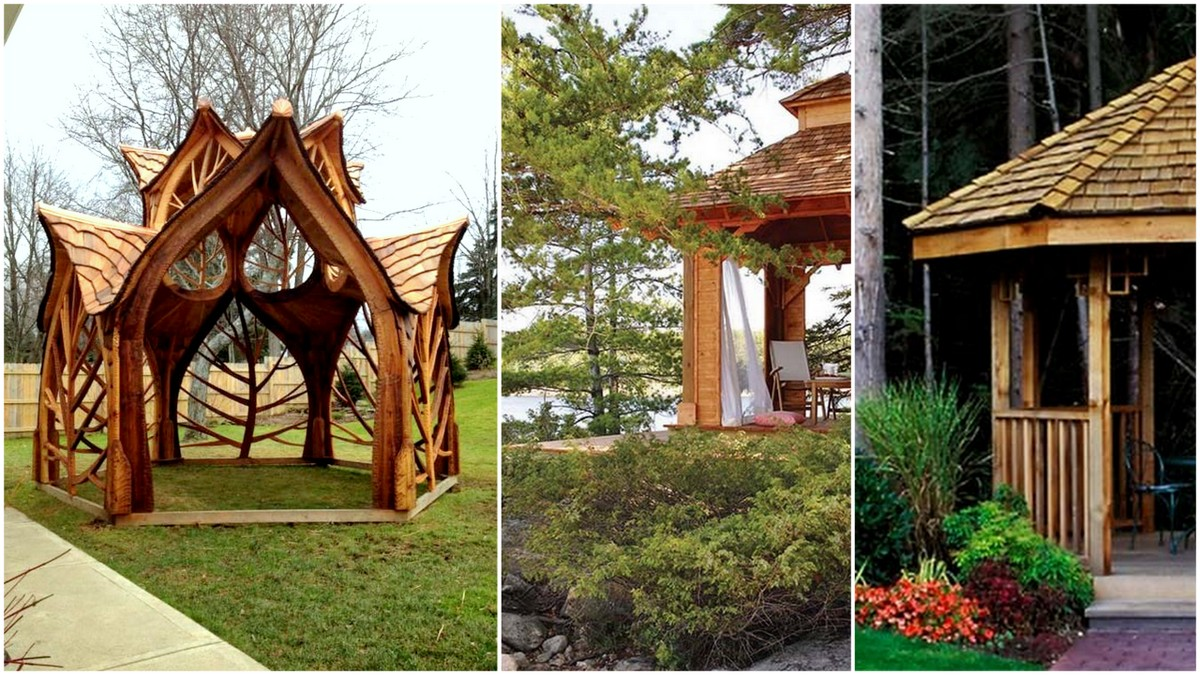 27 cool and free diy gazebo plans design ideas to build right now