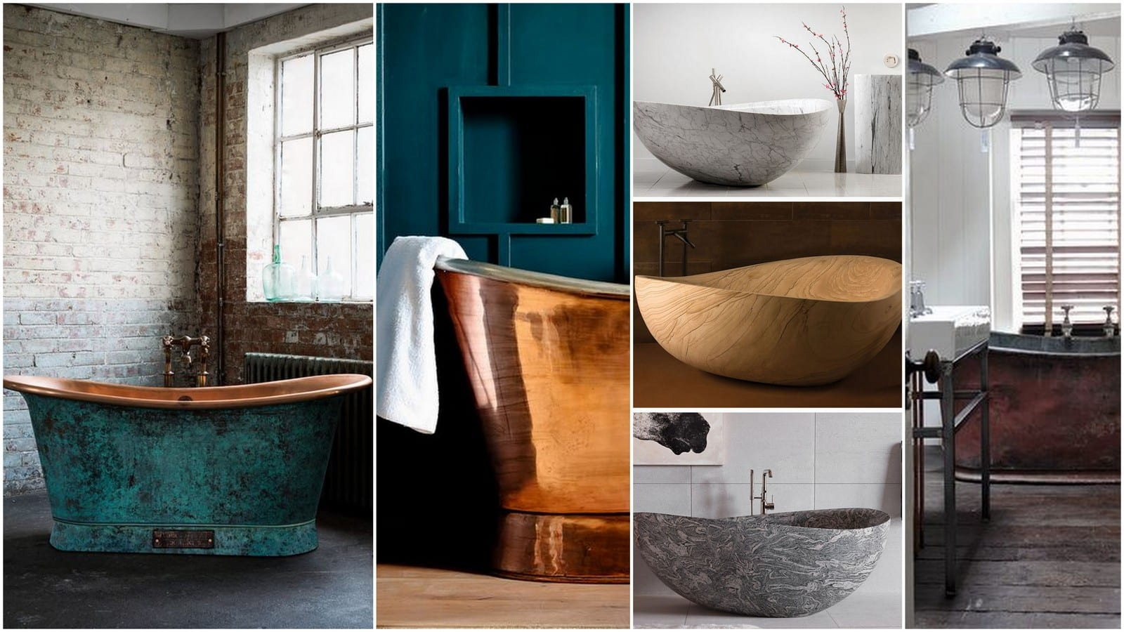 Different Types of Bathtub Materials to Consider to Uplift Your Home ...