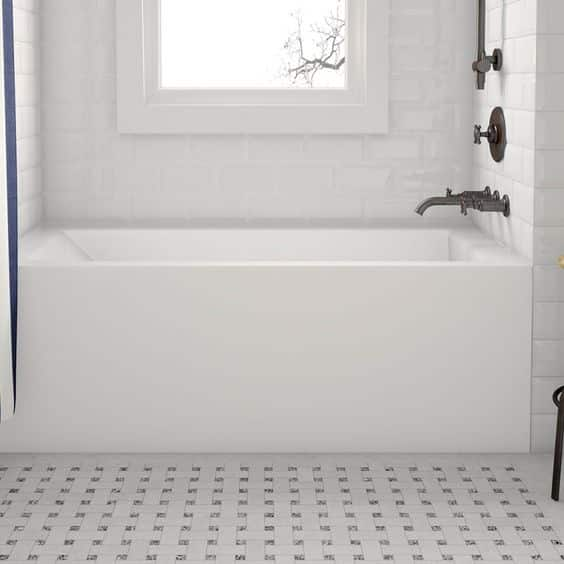 different types of bathtub materials to consider to uplift