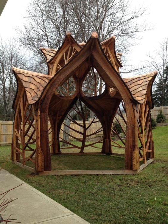 27 cool and free diy gazebo plans design ideas to build for Simple gazebo plans