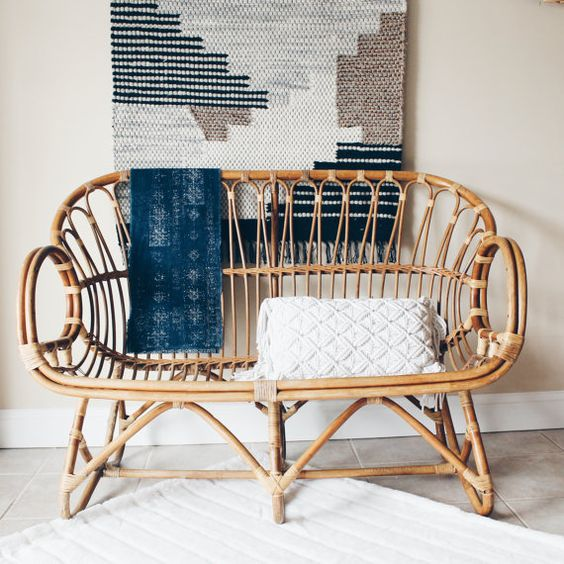 via etsy. Learn What is The Difference Between Wicker and Rattan Furniture
