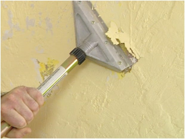 Learn How To Get Rid Of Textured Walls And Obtain A Smooth