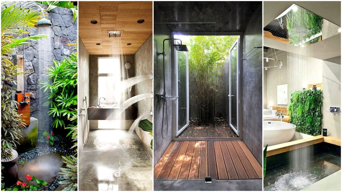 27 Super Cool Shower Designs to Pursue - Architecture Lab