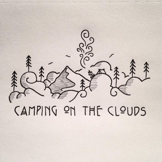 42. Camping on The Clouds By David Powell