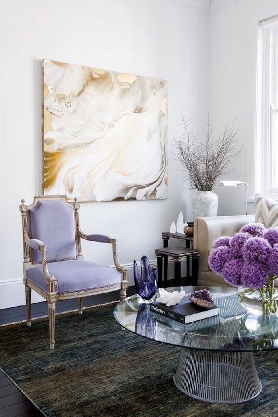How To Use Lavender Color To Your Advantage In Home Decor