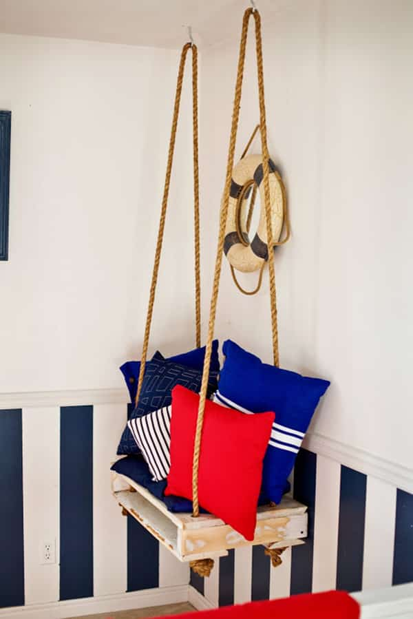 Epic pallet swing ideas enjoying the outdoors freely 10