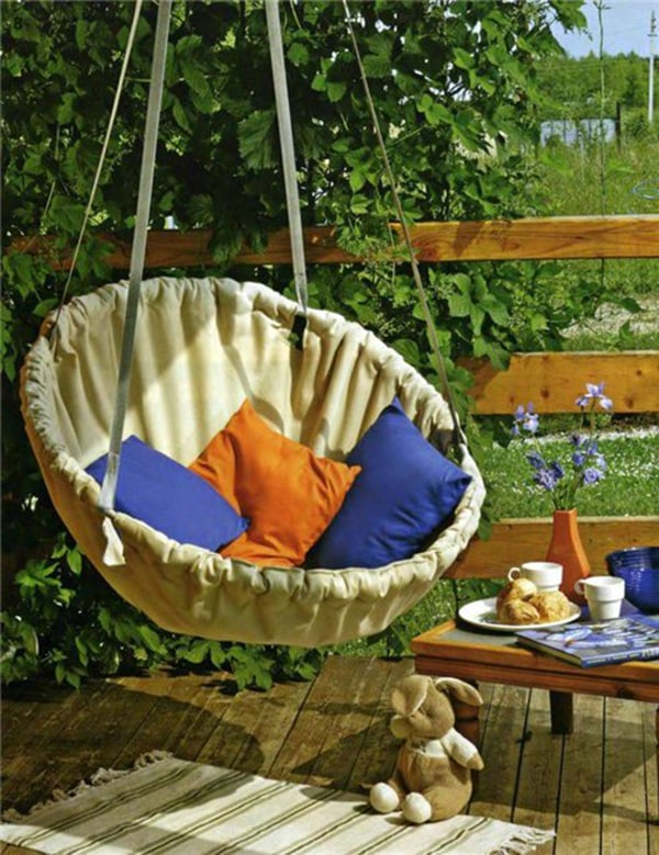 Epic pallet swing ideas enjoying the outdoors freely 4