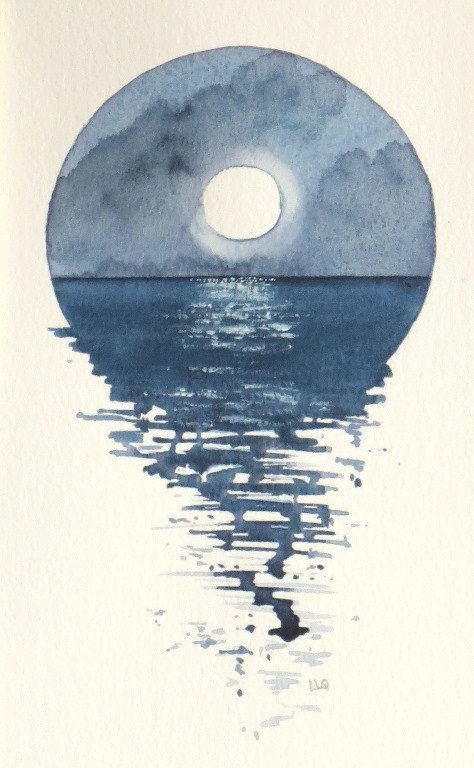 50. The Ocean Bleeds With Moonlight