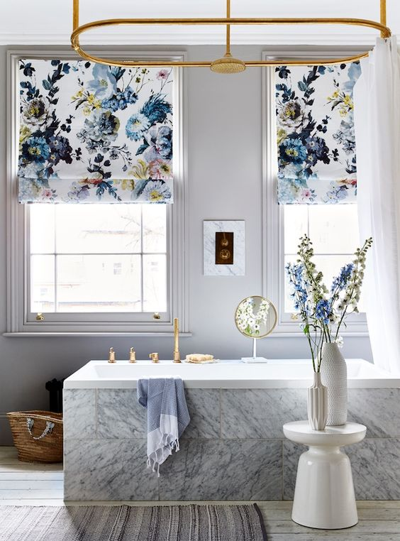 11 tips and tricks on how to use roman blinds in your interior rh architecturelab net roman shades designer fabric roman shade design ideas