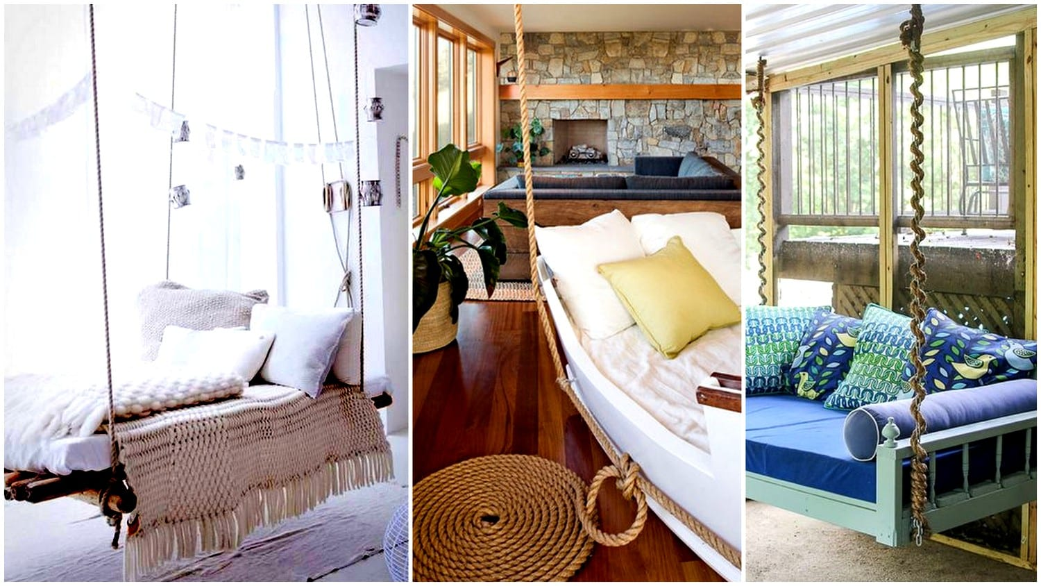 20 Insanely Cool Hanging Bed Ideas for a Soothing Sleep