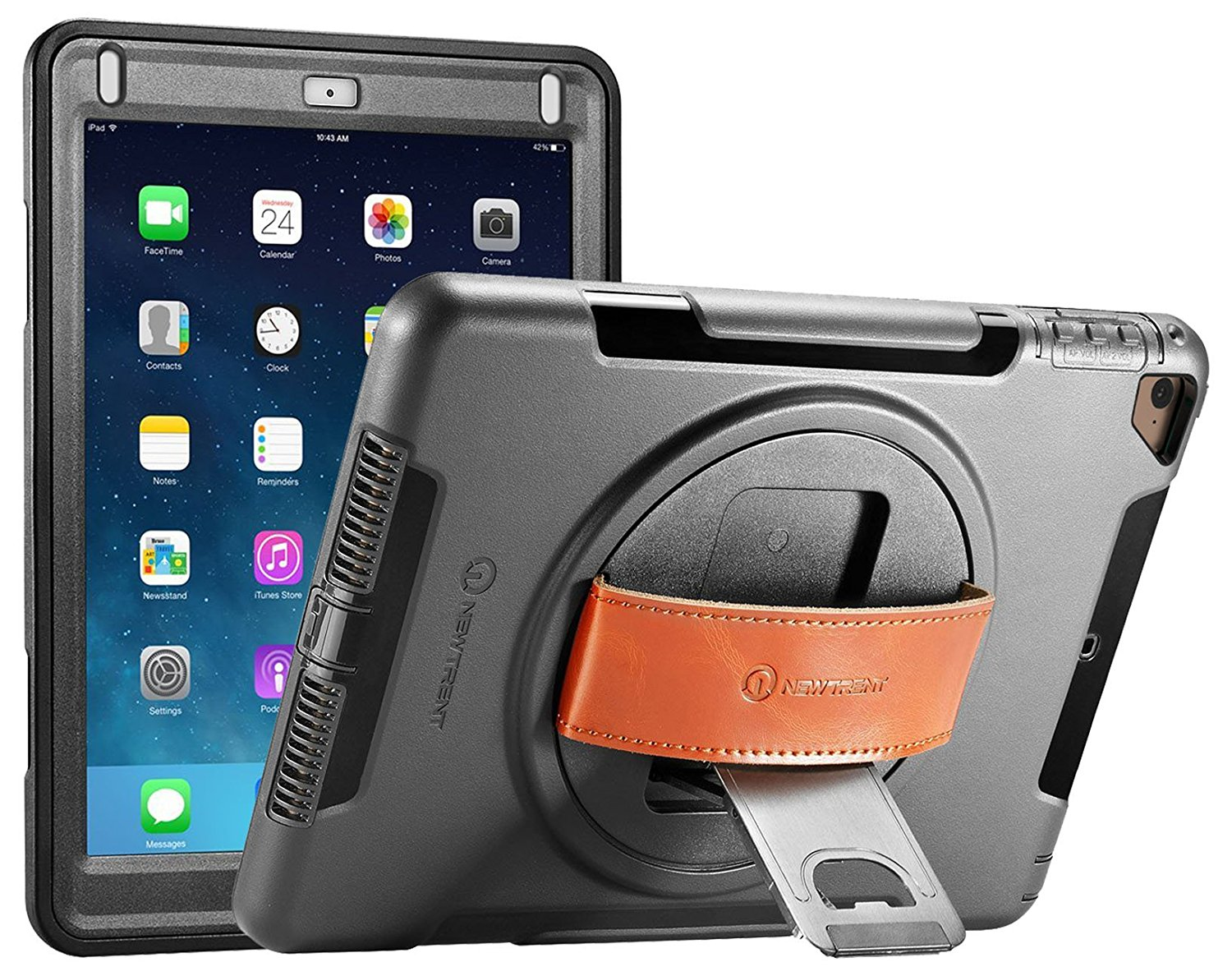 New Trent Gladius Rugged Kickstand Case for New iPad iPad Case for Construction Workers