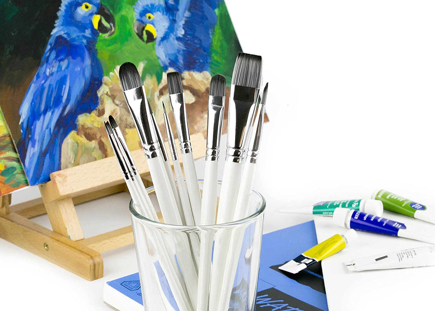 7 of the best brushes for acrylic painting architects collection 2