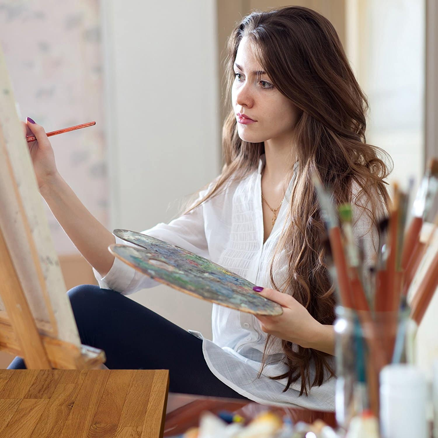 Best brushes for oil painting 0