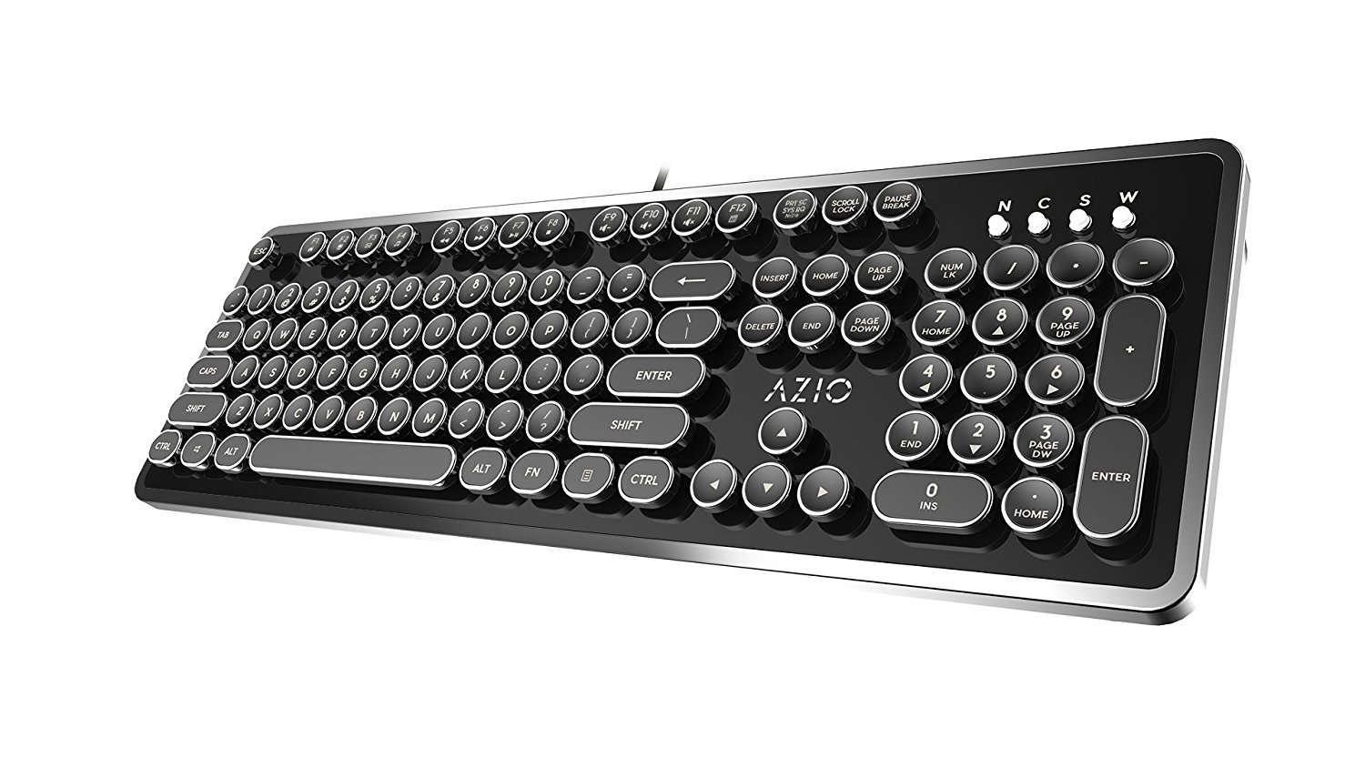 a9f20d36ae8 If you are someone who is torn between buying a wireless or wired keyboard,  this one has you covered. You can use the USB port to connect to your PC or  just ...