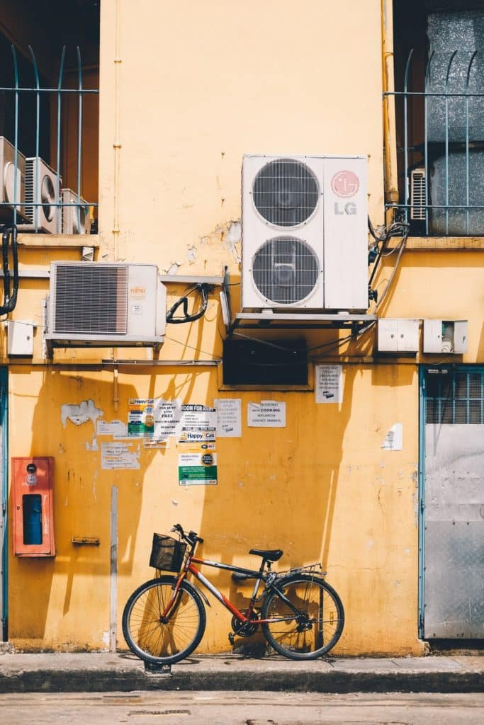 Air conditioning unit before home selling
