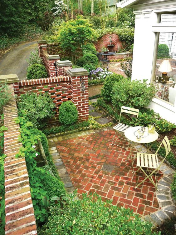 59 Cool Rock Concrete Brick Patio Ideas To Realize Now