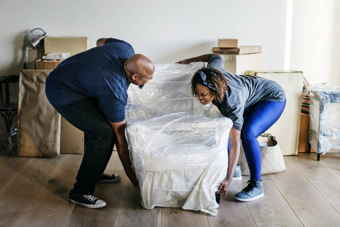 Moving into a new house tips