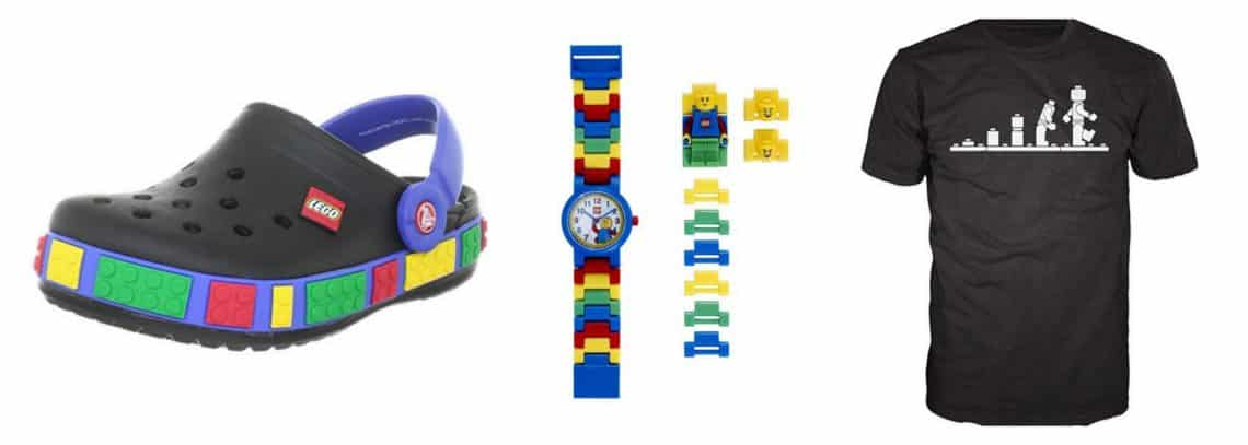 Fashion lego gifts for lego lovers
