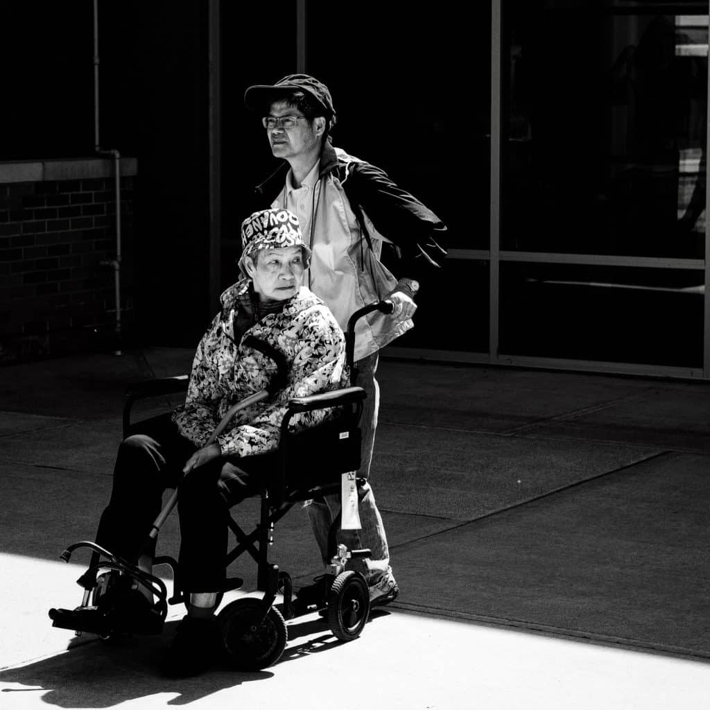 Wheel chair accesibility mapping