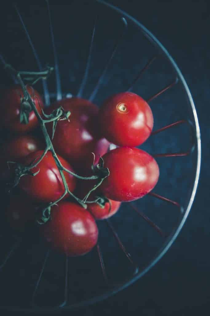 Tomatoes hydroponic system