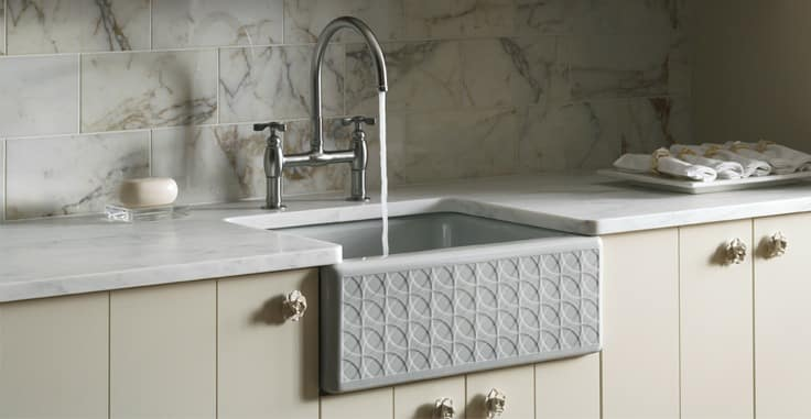 How to Repaint a Fireclay Farmhouse Kitchen Sink ...