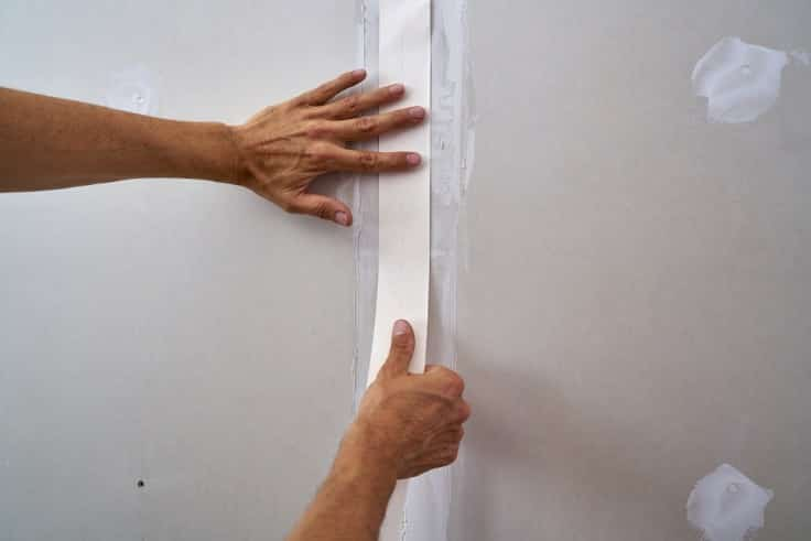 Wiggling drywall
