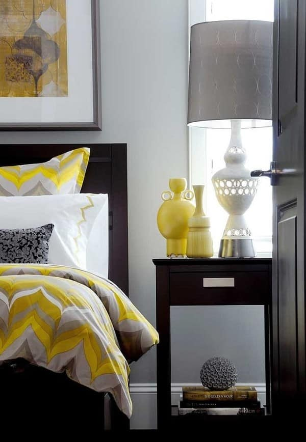 30 Yellow And Gray Bedroom Ideas That Ll Blow Your Mind Off
