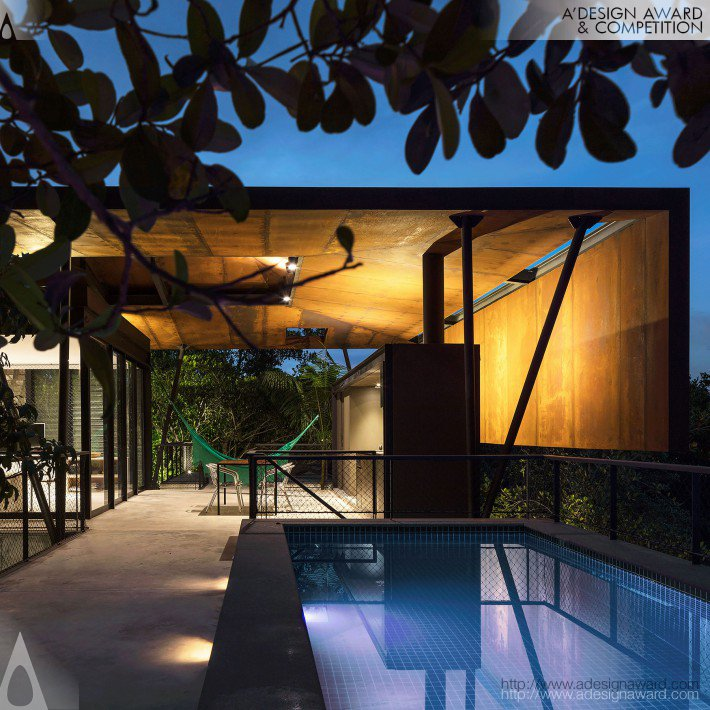 Campinarana house by laurent troost 2