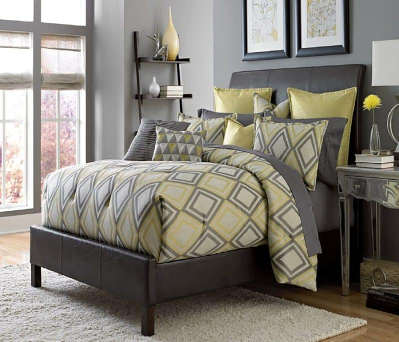30 yellow and gray bedroom ideas that'll blow your mind